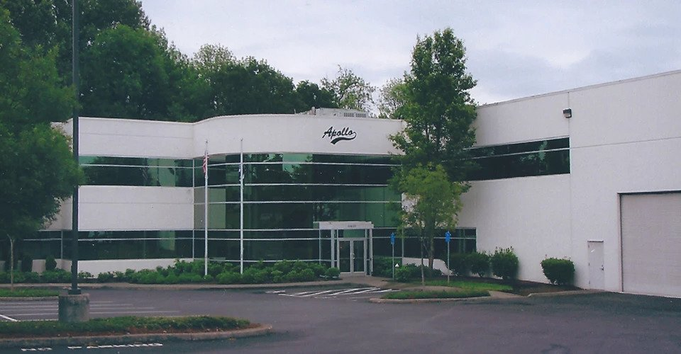 Apollo offices exterior paint