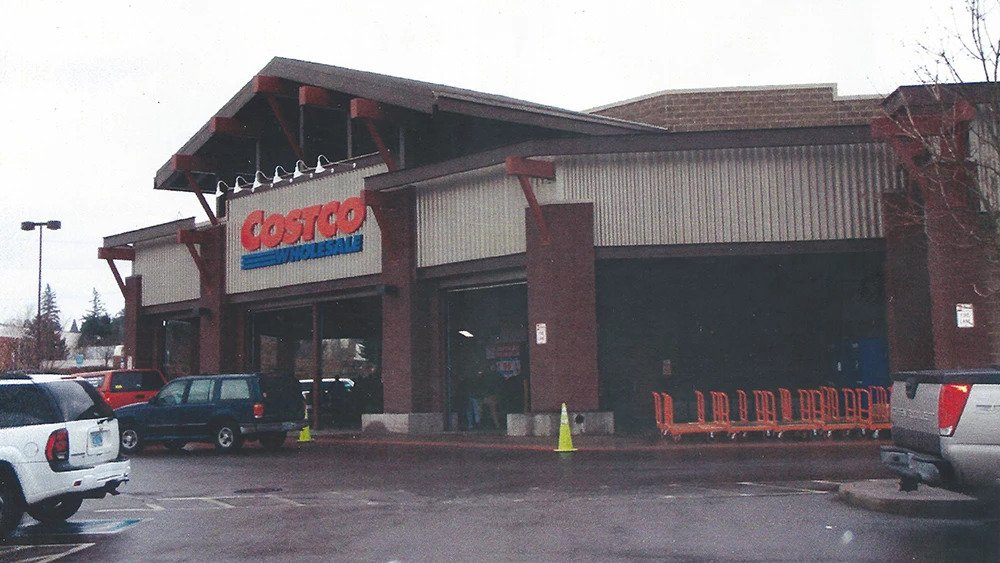 Costco exterior painting